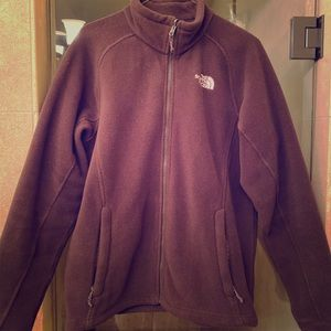 Chocolate Brown North Face jacket